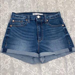 Garage Ultra High Rise Jean Shorts
